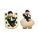 wholesale Party Items: Chimney sweep magnet made of poly 4x1x4.5cm