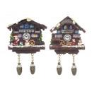 Großhandel Magnete: Magnet Haus aus Poly, 8 cm