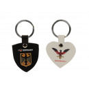 wholesale Gifts & Stationery: Leather keychain 'Germany', 5cm