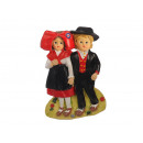 Magnet Alsace pair of poly 5 x 8 cm