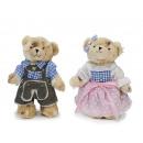 Teddy bear made of plush, 24 cm