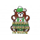 wholesale Jewelry & Watches: Teddy bear on key chain 4 cm