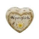 mayorista Decoración: Corazón hecho de cerámica, 14 cm