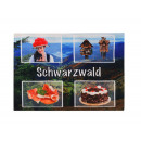 wholesale Table Linen: Black Forest Design Placemat, 45 x 33 cm