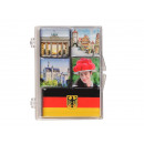 Magnet set 5pcs. 7 x 9 cm, Germany design