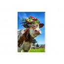 mayorista Regalos y papeleria: Foto imán de vacas para vacas, 5.5x8cm