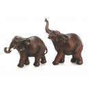 wholesale Figures & Sculptures: Elephant made of poly, 12 cm