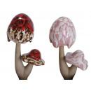 wholesale Garden & DIY store: Planting plug mushroom porcelain, 24 cm