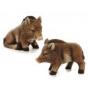 Wild boar ceramic, 22x9x17cm