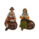 Magnet costume pair of poly 5 x 2 x 7 cm