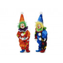wholesale Decoration: Clown made of poly, 34 cm