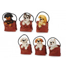 wholesale Gift Wrapping: Dog from poly in poly bag, 9 cm