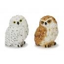 mayorista Casa y decoración:Owl de poli, 9 cm