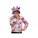 Großhandel Verkleidung & Kostüme: Kinderjacke Kuh aus Plüsch