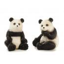 wholesale Toys: Panda bear made of ceramic, 9x8x10cm