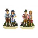 Magnetic costume pair made of poly, 8 cm
