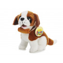 Saint Bernard made of plush, 18 cm