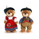 Großhandel Spielwaren: Alpin Bär aus Plüsch, 26 cm