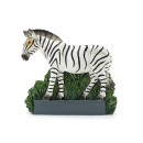 wholesale Artificial Flowers: Zebra magnet made of poly 6.5x1.5x6cm