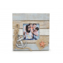 Wooden picture frame, 14.5x2x14.5cm