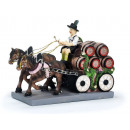 Brewery carriage made of poly, 23 cm