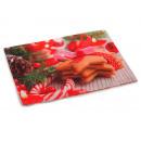 Placemat Christmas design 45 x 33 cm