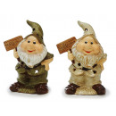 Windlight dwarf porcelain, 22 cm