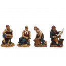 Pirate of Poly sitting, 11 cm