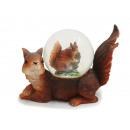 Großhandel Schneekugeln: Eichhörnchen aus Poly mit Eichhörnchen ...