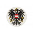 Großhandel Tischwäsche: Untersetzer 'Austria' aus Porzellan, Ø 11cm