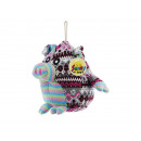 wholesale Gifts & Stationery: Pig knitted with hanger, 17 cm ger