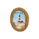 wholesale Pictures & Frames: Magnet Baltic sea from poly, 7 cm