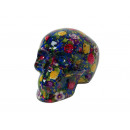 wholesale Saving Boxes: Spardose skull of porcelain, 20 cm