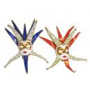 Großhandel Verkleidung & Kostüme: Maske mit Glöckchen 45 cm