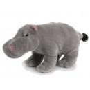 grossiste Jouets: Peluche hippopotame, 32 cm
