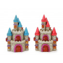 Fairytale castle made of poly, 17 cm