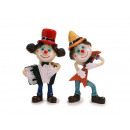 Poly clown 6x2x12cm