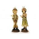 wholesale Figures & Sculptures: Chestnut children from Poly, 21 cm