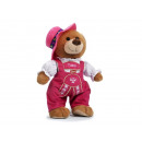 Traditional costume Yodel bear 'Tussi' mad