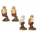 Owl made of poly, 11 cm