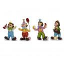 Großhandel Spielwaren: Clown aus Poly, stehend, 15 cm