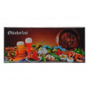 wholesale Magnets: Magnet Panorama Oktoberfest made of metal, 12 x 5