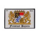 Großhandel Magnete: Magnet Freistaat Bayern aus Metall, 8 x 5,5 cm