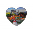 wholesale Gifts & Stationery: Magnet Heart 'Bavaria', 6 cm