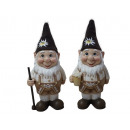Dwarf with costume made of poly, 25 cm