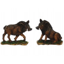 Magnet Wild boar made of poly, 7 cm