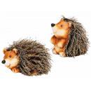 wholesale Decoration:Ceramic hedgehog, 8 cm