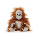 Orangutan from plush, 30 cm