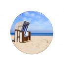 Photo magnet beach chair, Ø 3.5cm
