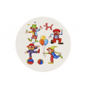wholesale Table Linen: Coaster 'Clown' made of porcelain, ...